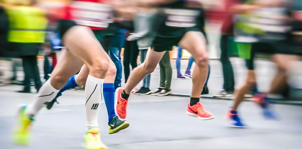 Marathon Graz Läufer