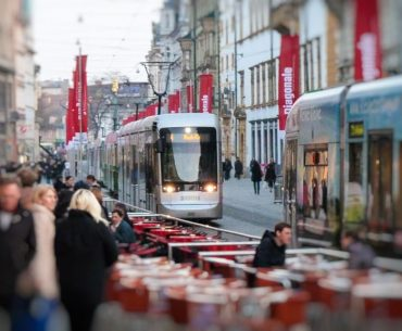 Öffentlicher Verkehr Straßenbahn