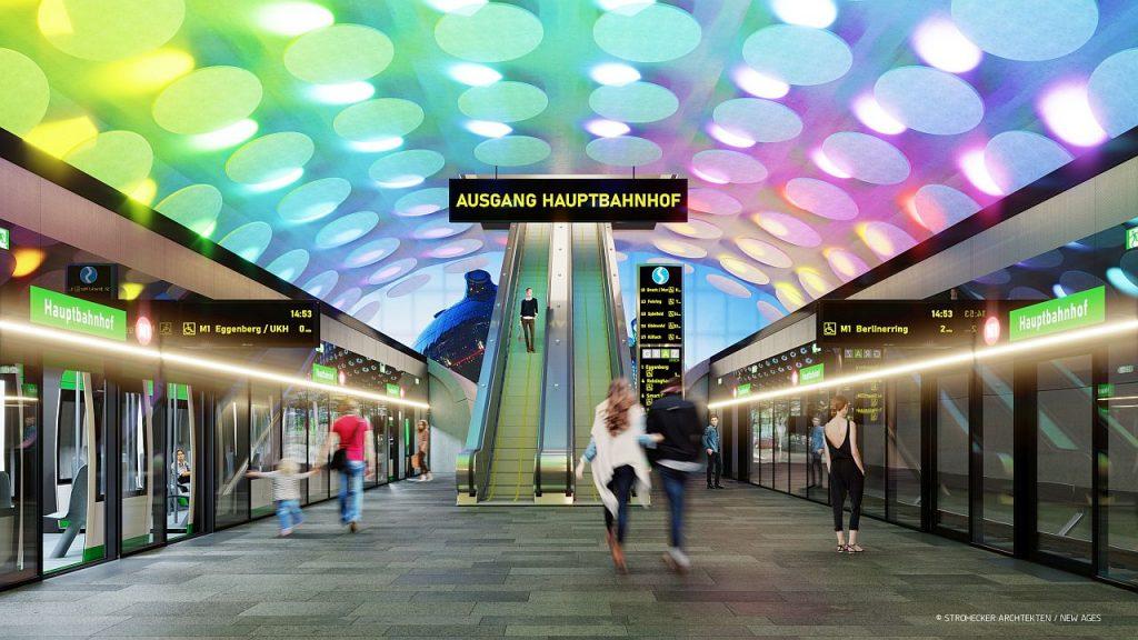 Metro Hauptbahnhof Graz