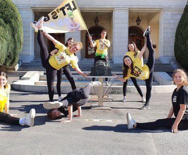 Profi-Tanzgruppe rund um Pascal Chanterie