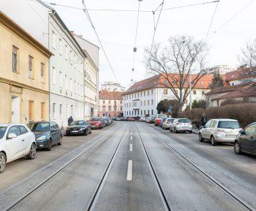 Münzgrabenstrasse Sperre