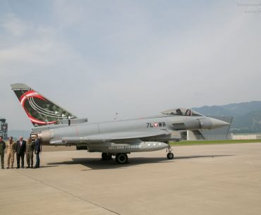 Airpower Zeltweg Eurofighter